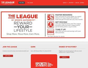 Thumbshot of Sportsauthorityleague.com