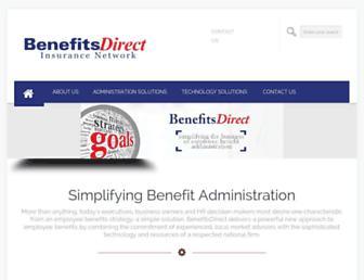 benefits-direct.com screenshot