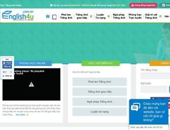 english4u.com.vn screenshot