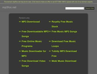 mp3fox.net screenshot