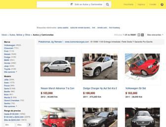 autos.mercadolibre.com.mx screenshot