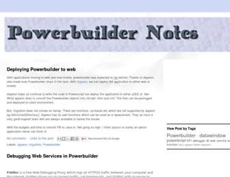 powerbuildernotes.blogspot.com screenshot