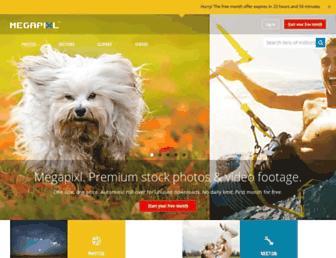 megapixl.com screenshot
