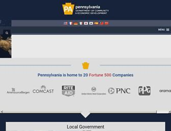 dced.pa.gov screenshot