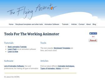 the-flying-animator.com screenshot