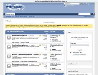 Thumbshot of Freewebhostingtalk.com