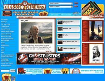 Thumbshot of Classiccinemas.com