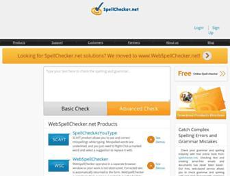 spellchecker.net screenshot