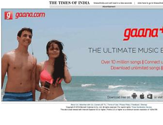 m.timesofindia.com screenshot