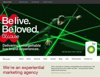 becausexm.com screenshot