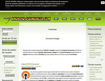 android.scenebeta.com screenshot