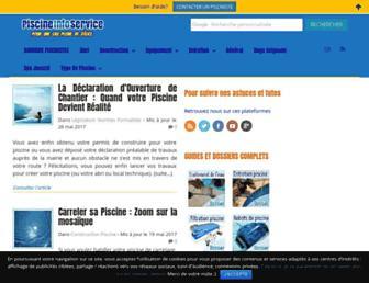piscineinfoservice.com screenshot