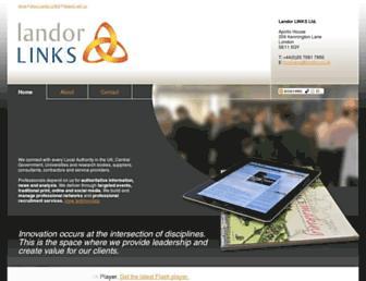 landor.co.uk screenshot
