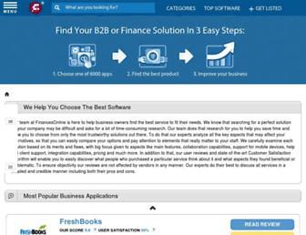 reviews.financesonline.com screenshot