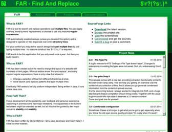 findandreplace.sourceforge.net screenshot