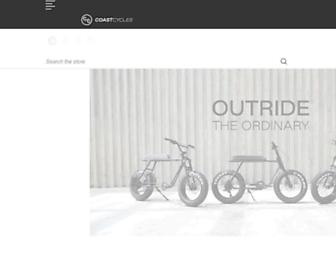 coastcycles.com screenshot