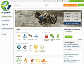 energypedia.info screenshot