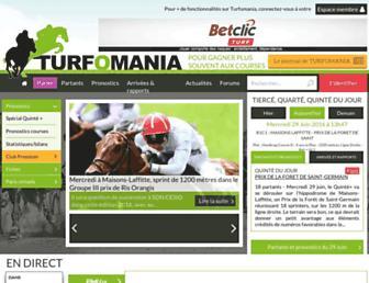 turfomania.fr screenshot