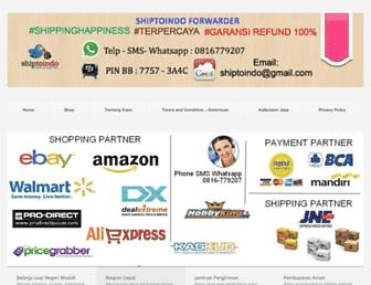 shiptoindo.com screenshot