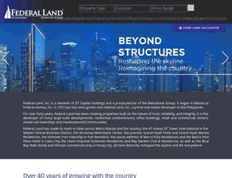 federalland.ph screenshot