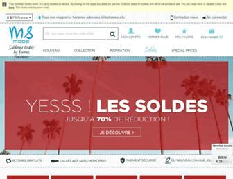 msmode.fr screenshot
