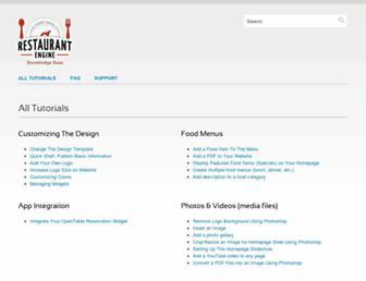 kb.restaurantengine.com screenshot