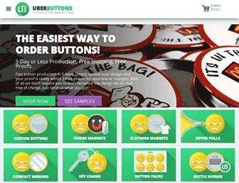 uberbuttons.com screenshot