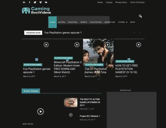 gamingbestvideos.com screenshot