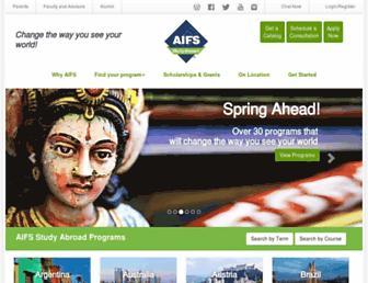 aifsabroad.com screenshot