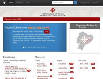 repositorio.ucsg.edu.ec screenshot