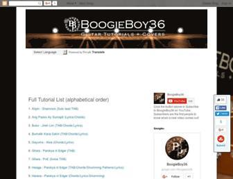 boogieboy36.blogspot.com screenshot