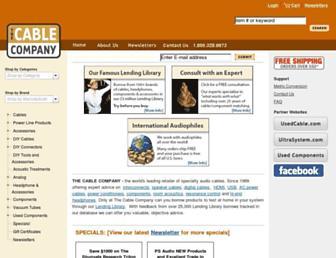 thecableco.com screenshot