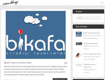 emreakkaya.org screenshot