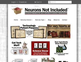 neuronsnotincluded.com screenshot