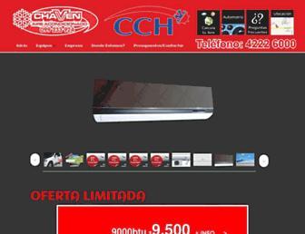 chavenaireacondicionado.com screenshot