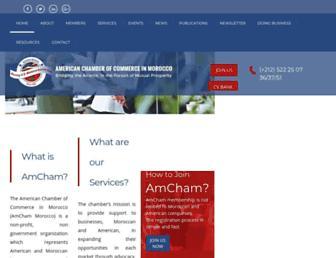 amcham.ma screenshot