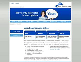 Thumbshot of Webperspectives.ca