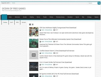 oceanoffreegames.blogspot.com screenshot