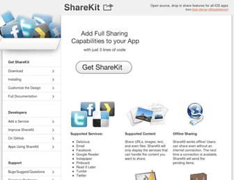 Thumbshot of Getsharekit.com