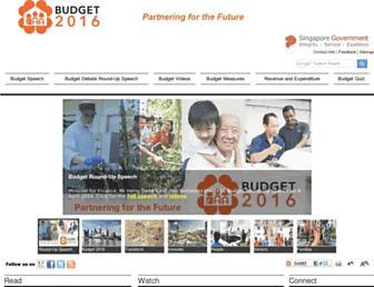 singaporebudget.gov.sg screenshot