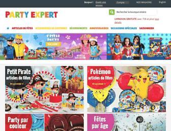 party-expert.com screenshot