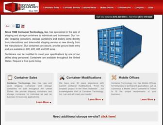 containertech.com screenshot