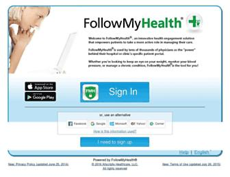 Thumbshot of Followmyhealth.com