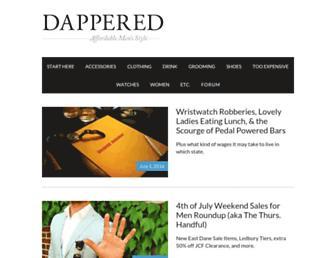 dappered.com screenshot