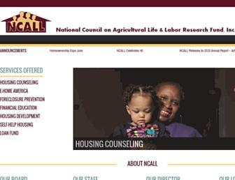 ncall.org screenshot