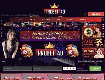 probet4d.info screenshot