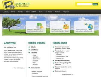 agrotech.cz screenshot