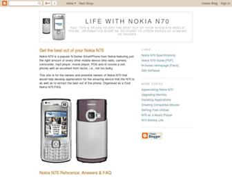nokia--n70.blogspot.com screenshot