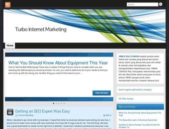 Main page screenshot of turbolinktar.info