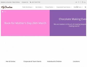 mychocolate.co.uk screenshot